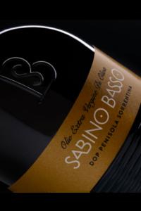 Olio Extravergine di Oliva Selezione DOP Penisola Sorrentina etichetta